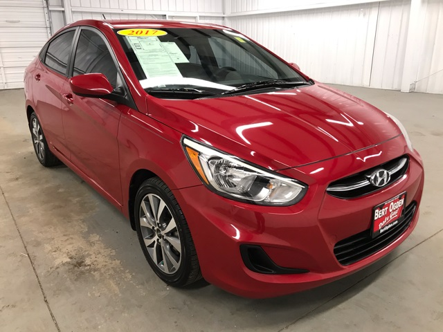 Certified Pre-Owned 2017 Hyundai Accent Value Edition FWD 4D Sedan