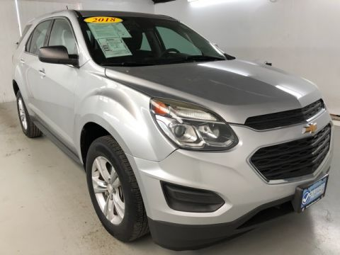 Pre-Owned 2016 Chevrolet Equinox LS FWD 4D Sport Utility