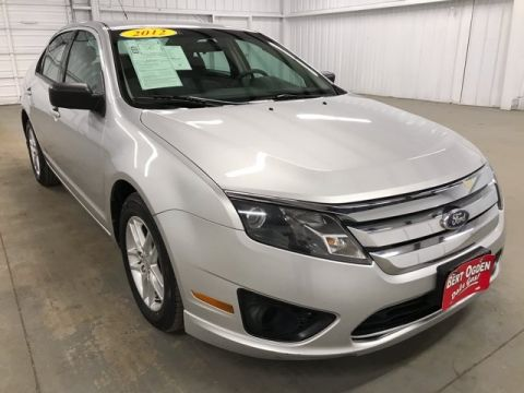 Pre-Owned 2012 Ford Fusion S FWD 4D Sedan
