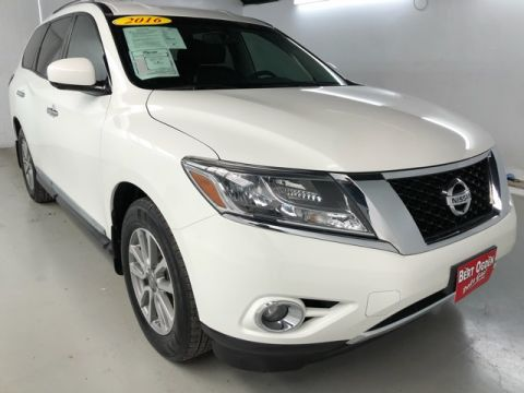Pre-Owned 2016 Nissan Pathfinder SL FWD 4D Sport Utility