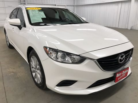 Pre-Owned 2016 Mazda6 i Sport Sport FWD 4D Sedan